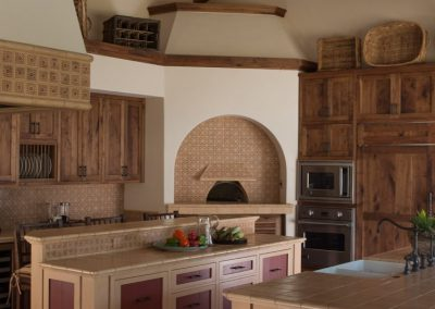 photo of Hacienda kitchen, design by Gardner & Associates