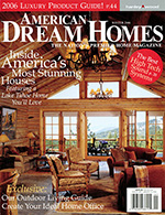 american dream homes cover featuring Gardner & Associates