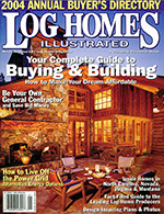 Log Homes Illustrated featuring Gardner & Associates