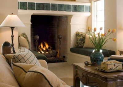 photo of Pebble Beach Estate, Fireplace detail
